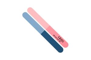 Пилка для ногтей абразивная Mertz A956, #120/240/280/320