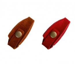 Чехол для профессиональных кусачек кожаный, на кнопке