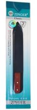 Пилка стеклянная Zinger 2-х сторонняя со стразами zo-FG-CRYSTAL-3-FG-02-140-C
