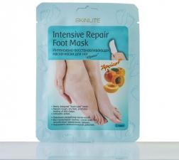 Интенсивно-восстанавливающая маска-носки для ног «Абрикос»