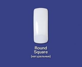 Типсы Round Square натуральные, 500 шт - Bohema Cosmetics