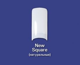 Типсы New Square натуральные, 100 шт - Bohema Cosmetics