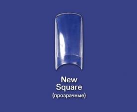 Типсы New Square  прозрачные, 100 шт - Bohema Cosmetics