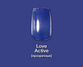 Типсы Love Active  прозрачные, 100 шт - Bohema Cosmetics