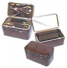 Маникюрный набор с косметичкой zMs 1201-804G
