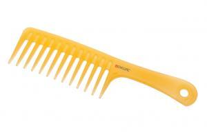 Гребень DEWAL PROSUN моделирующий, с ручкой, антистатик, желтый 24,5 см