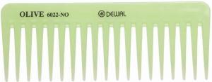 Гребень DEWAL OLIVE моделирующий, редкозубый, зеленый 15,5 см