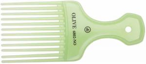 Гребень DEWAL OLIVE моделирующий, антистатик, зеленый 6,7 х 15,8 см
