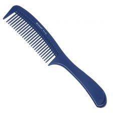 Расческа Dewal Beauty с ручкой синяя 22,0 см