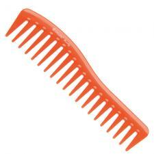 Гребень волна Dewal Beauty оранжевый 18,0см