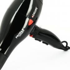 Фен для волос DEWAL Profile Compact черный, 2000 Вт, ионизация, 2 насадки