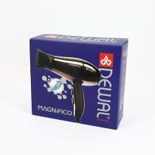 Фен для волос DEWAL Magnifico синий 2000 Вт, ионизация, 2 насадки