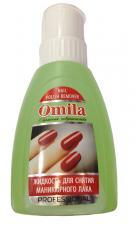 """Жидкость для снятия лака с помпой 300мл, """"Нежность"""" ОMILA"""