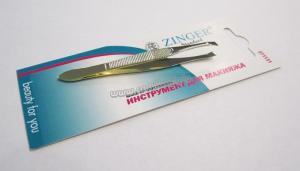 Пинцет для бровей Zinger zs-86079-HG