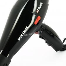 Фен DEWAL Spectrum  черный, 2200 Вт, ионизация, 2 насадки