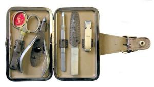 Маникюрный набор Mertz A5320RF - 5 предметов