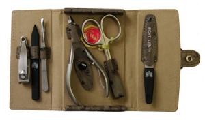 Маникюрный набор Mertz A6420RF - 6 предметов